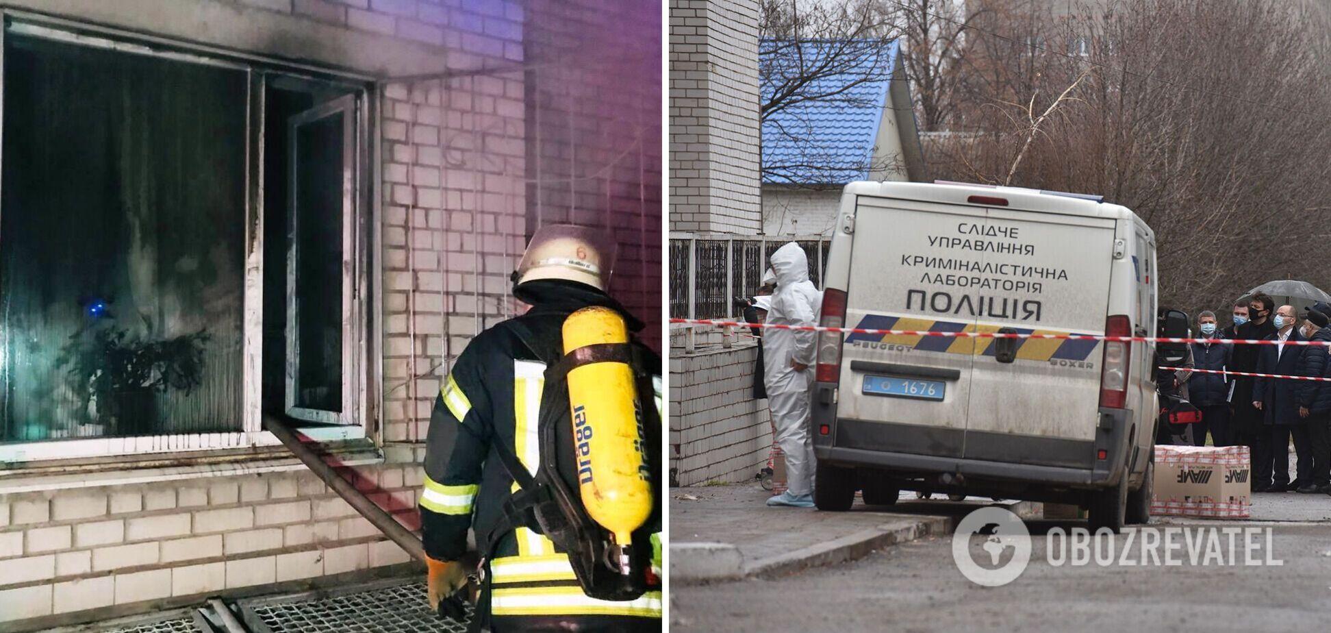 Смертельна пожежа в лікарні Запоріжжя: головлікар виправдав підозрюваного завгоспа