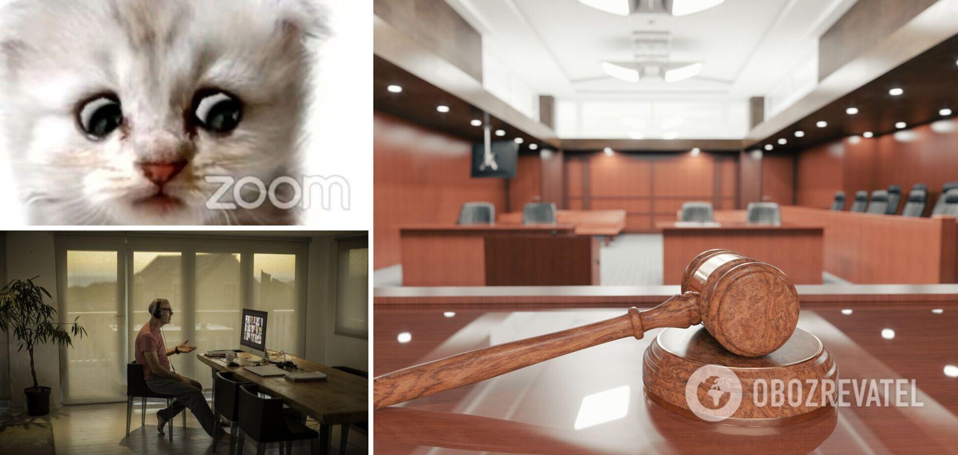 У США адвокат з'явився на судове засідання в Zoom під фільтром кота. Курйозне відео