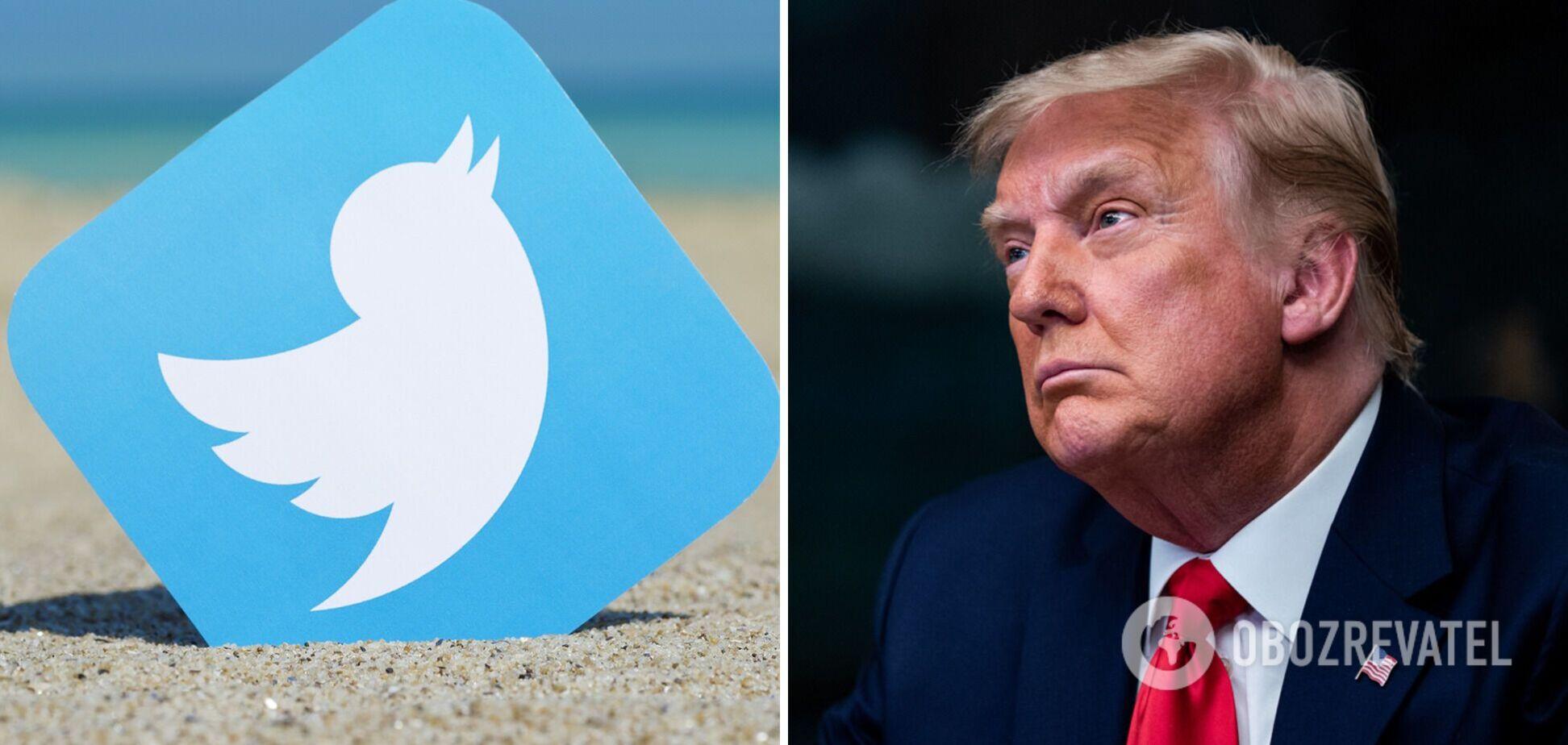 Twitter назавжди відмовив Трампу в новій реєстрації
