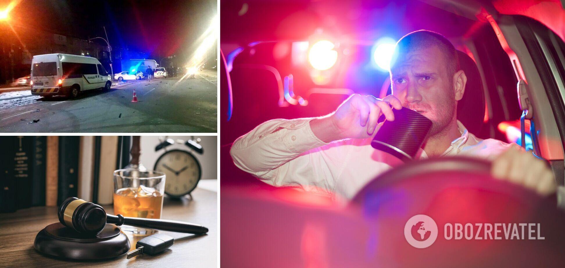 ДТП пьяный за рулем