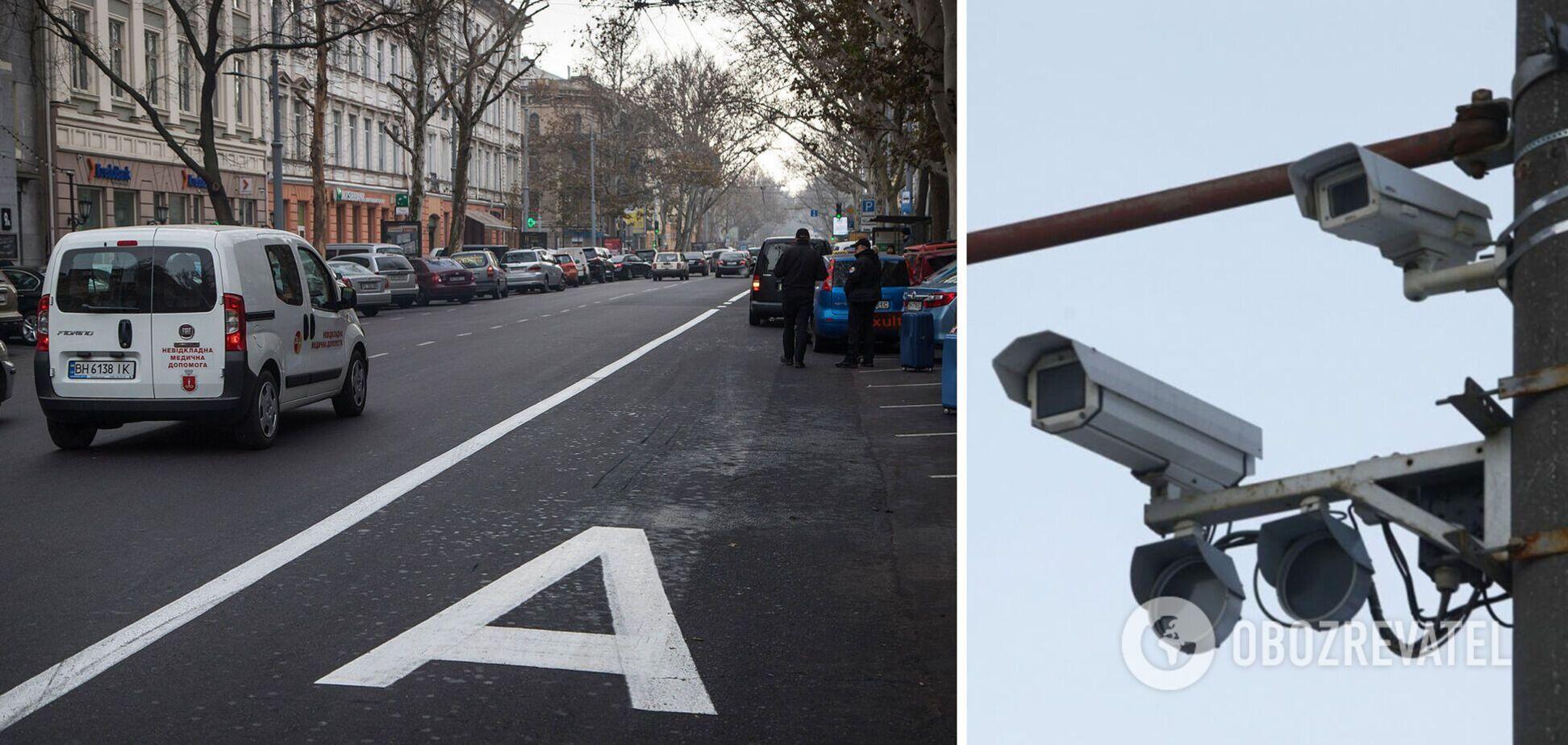 Камери на дорогах