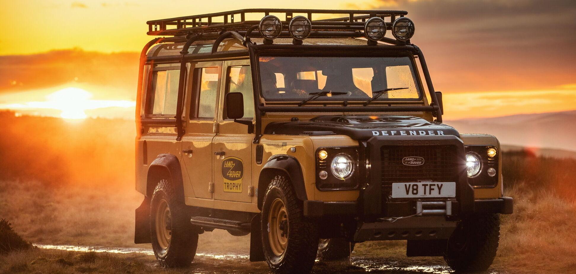Land Rover випустить ексклюзивну серію Defender Works V8 Trophy