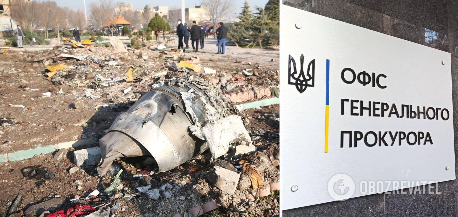 Україна хоче отримати від Канади секретний запис про катастрофу літака МАУ в Ірані
