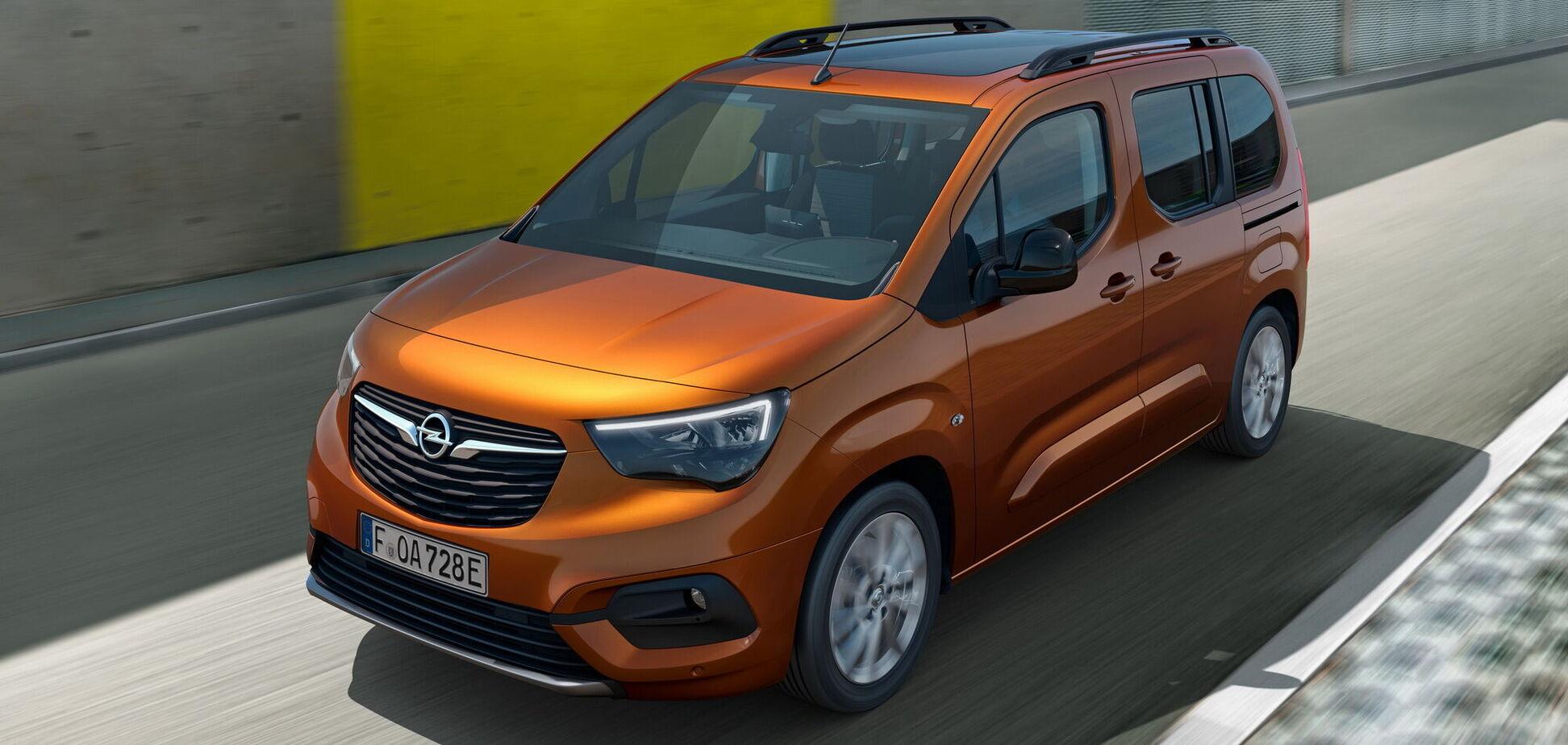 Opel презентував новий електромобіль Combo-e Life