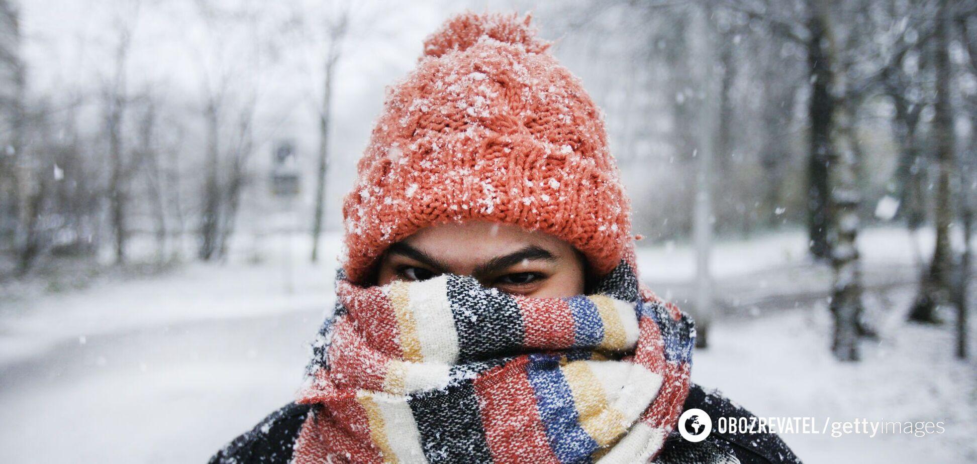 Погода в Україні буде дощовою і сніжною