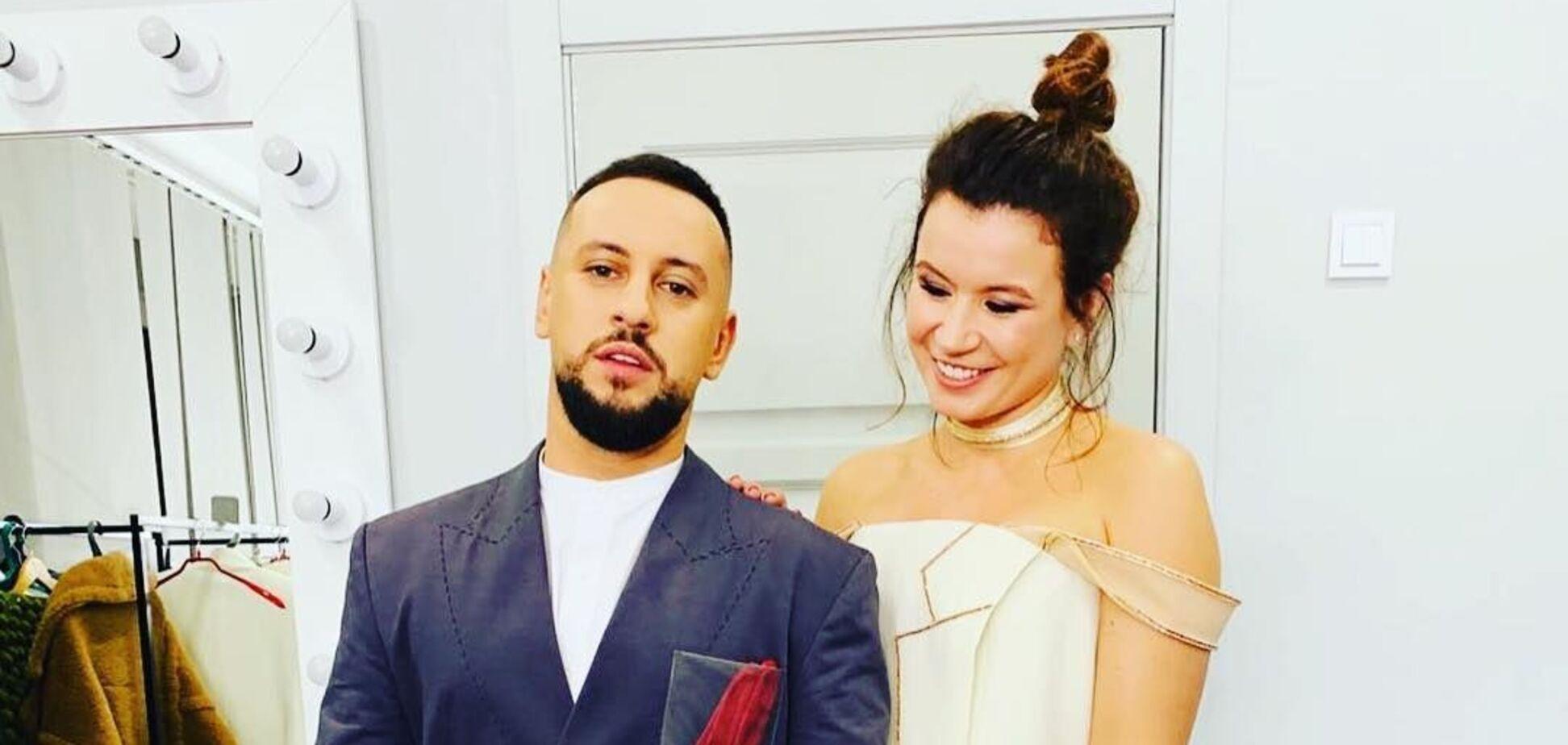 Дмитрий Монатик с женой