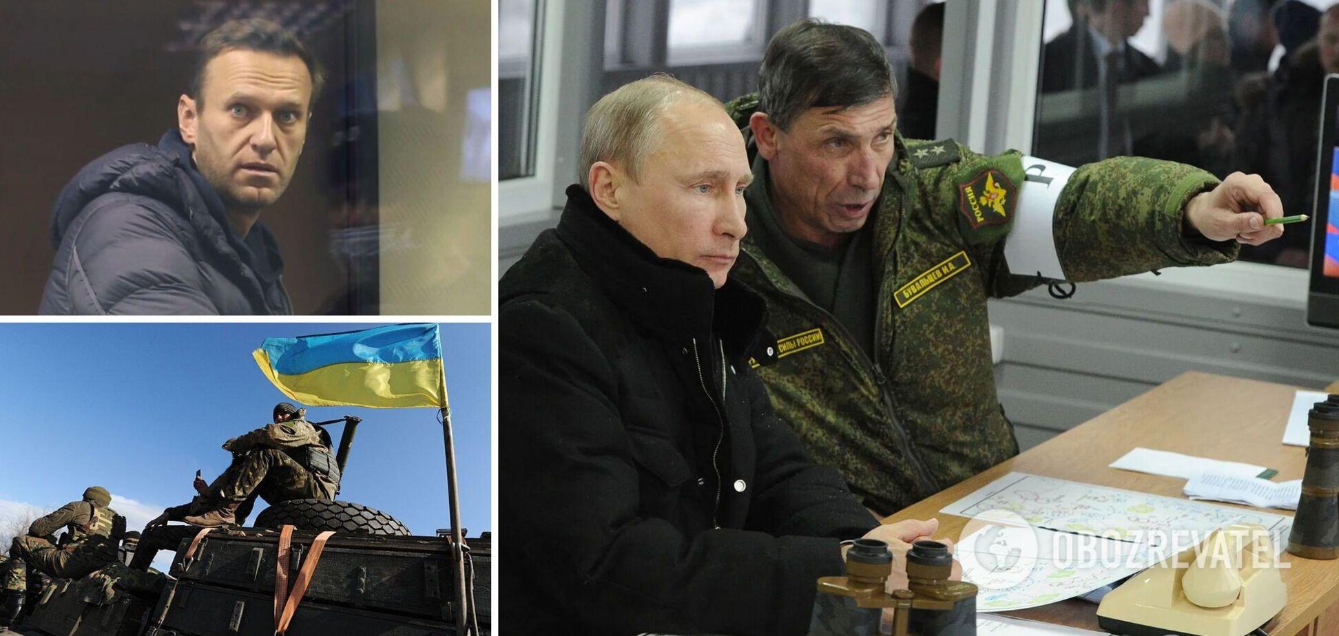 Сазонов: Путін підвищує ставки, використовуючи Навального, і готує загострення на Донбасі