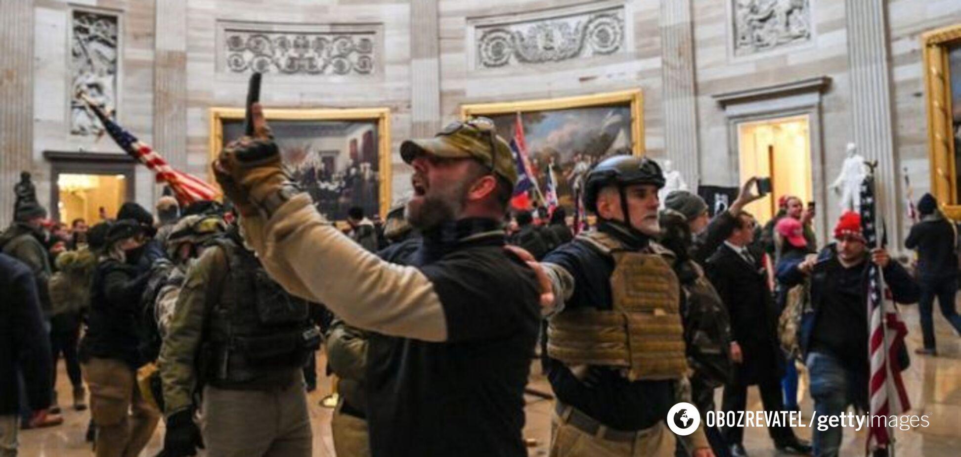 В США показали неизвестное видео захвата Капитолия