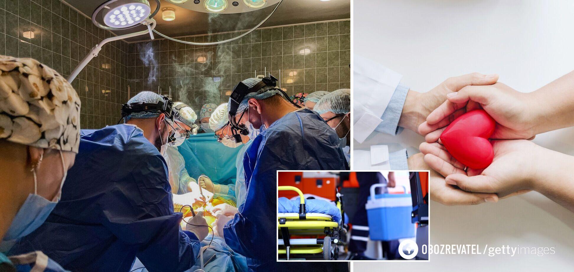 У Львові лікарі вишикувалися в коридор пошани перед доноркою, яка врятувала життя чотирьом. Фото