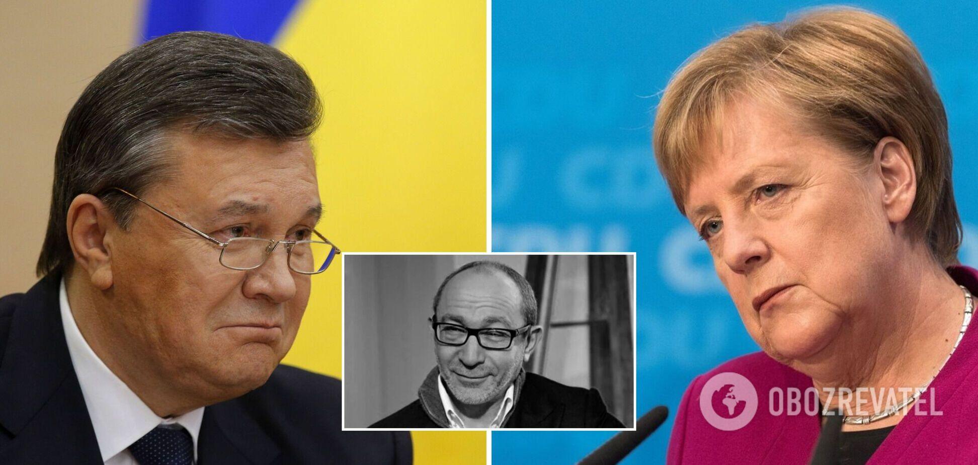 Кернес розповів, чи обговорювали його Янукович і Меркель