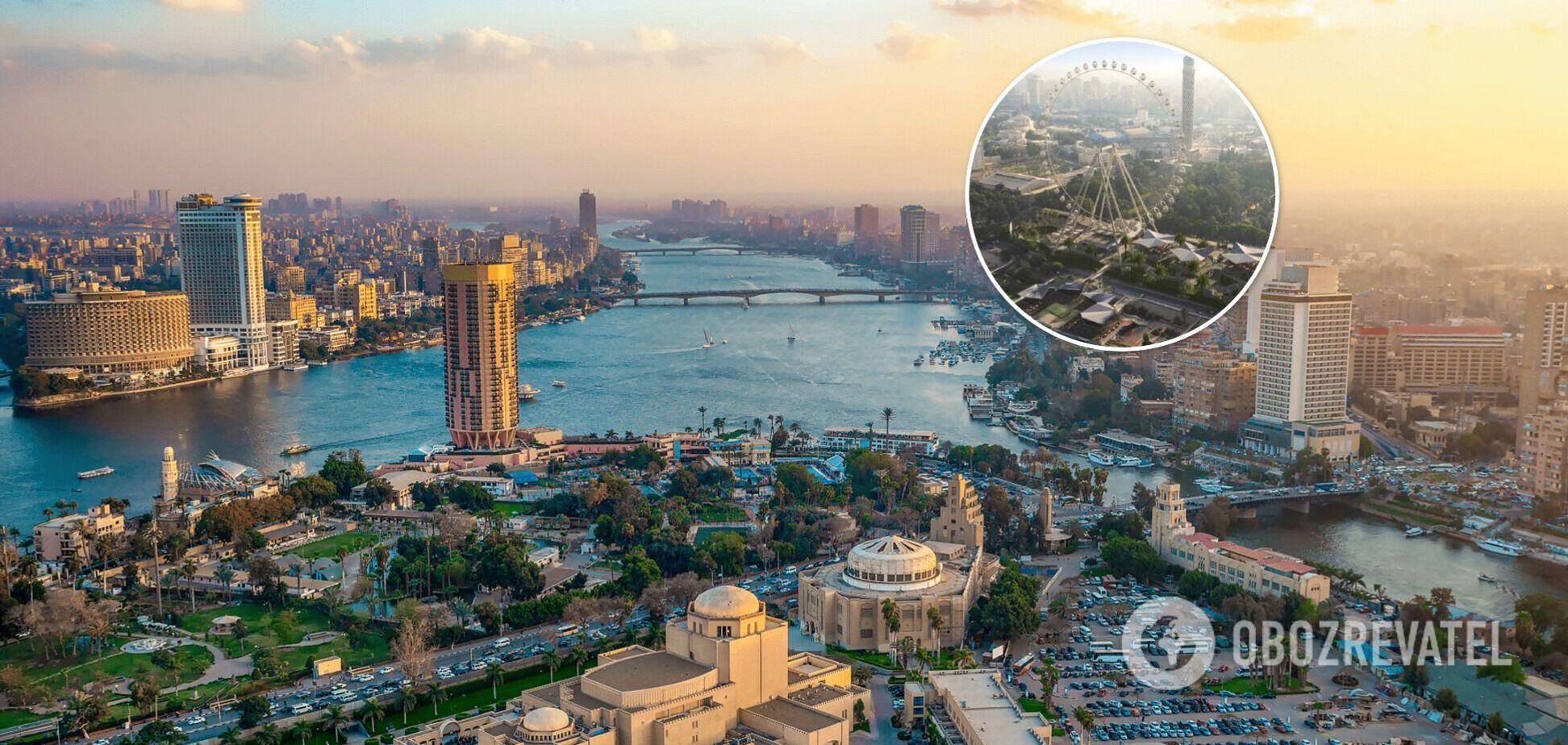 Найбільше в Африці колесо огляду з'явиться в Єгипті