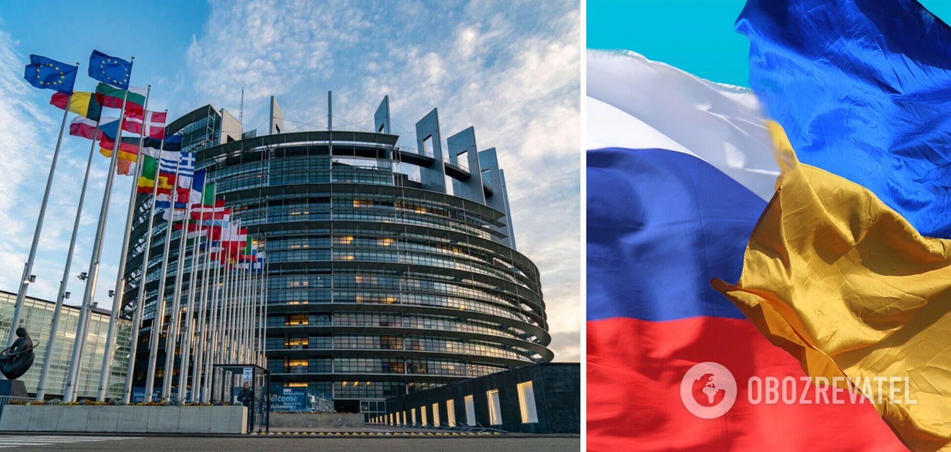 Європарламент у резолюції засудив РФ за агресію і попередив про посилення санкцій