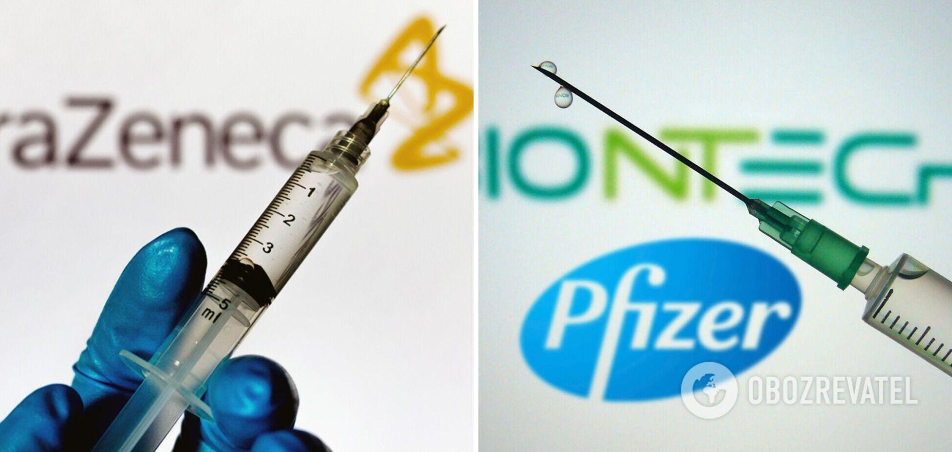 В Італії медиків почали прищеплювати вакциною AstraZeneca замість обіцяної Pfizer