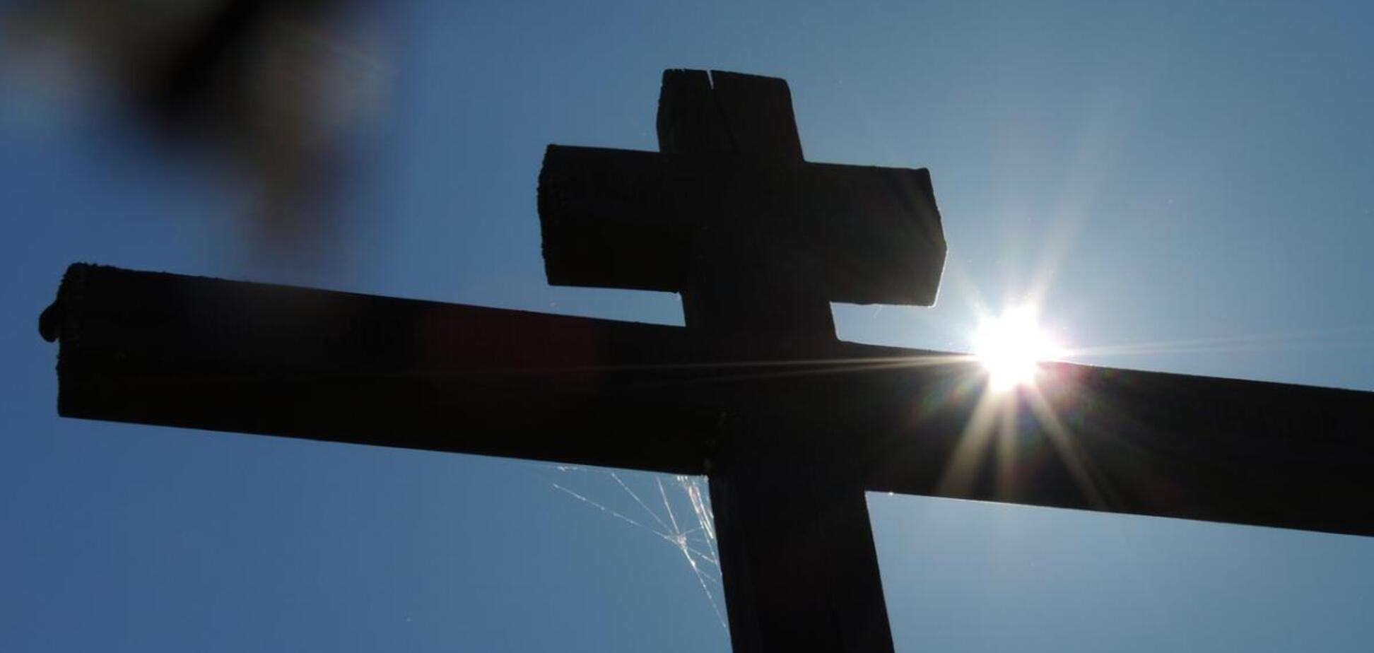 На Одесщине подросток распял кота на кресте
