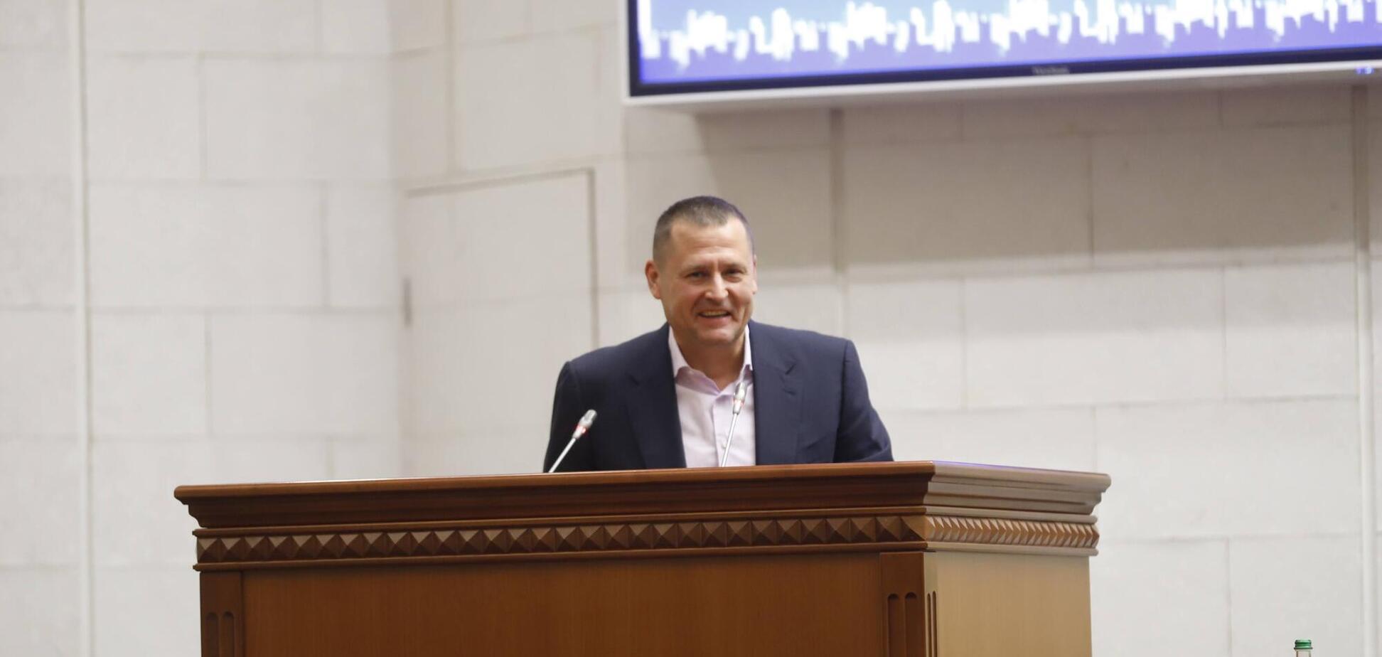 Филатов избран на должность председателя регионального отделения АГУ в Днепропетровской области
