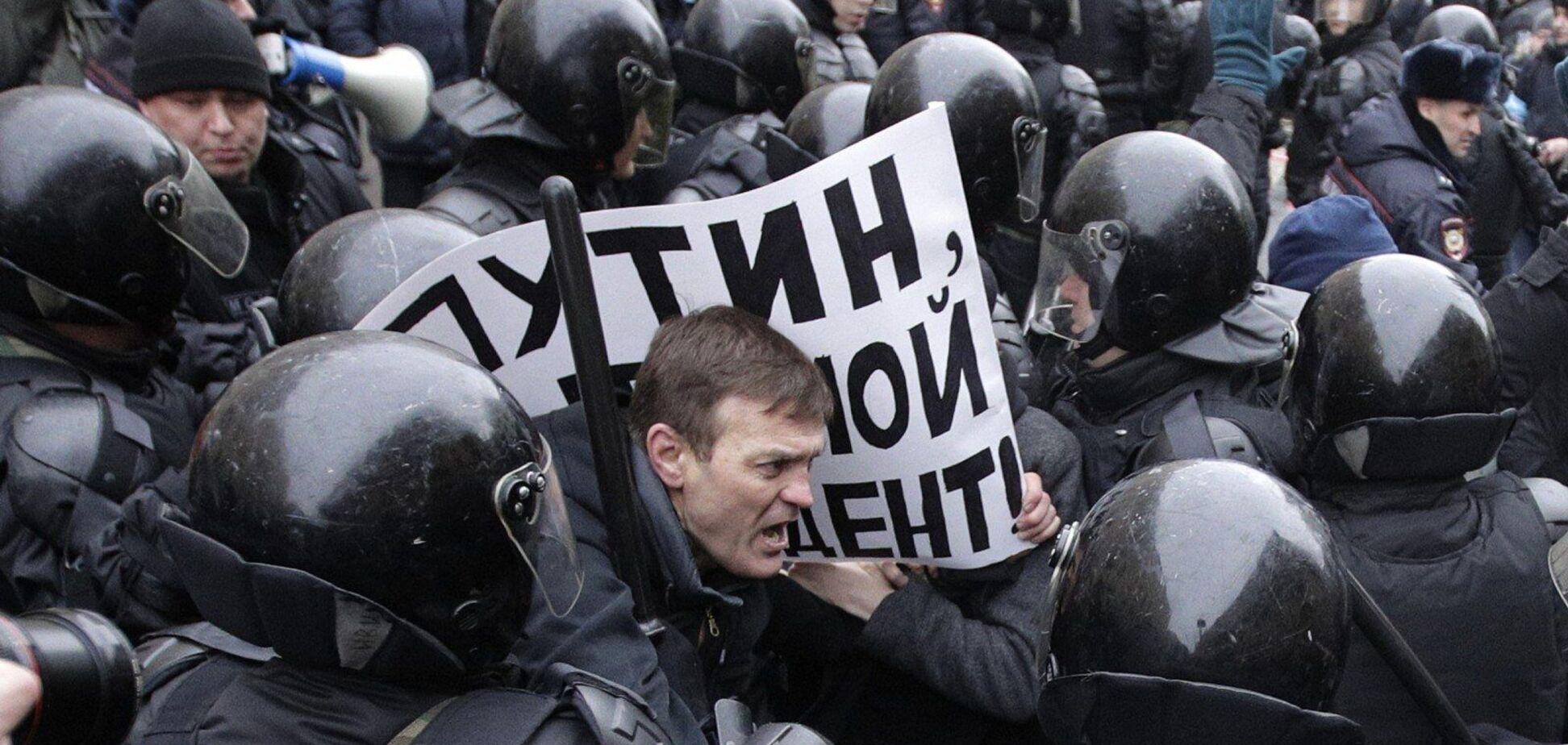 В России продолжаются протесты из-за ареста оппозиционера Алексея Навального