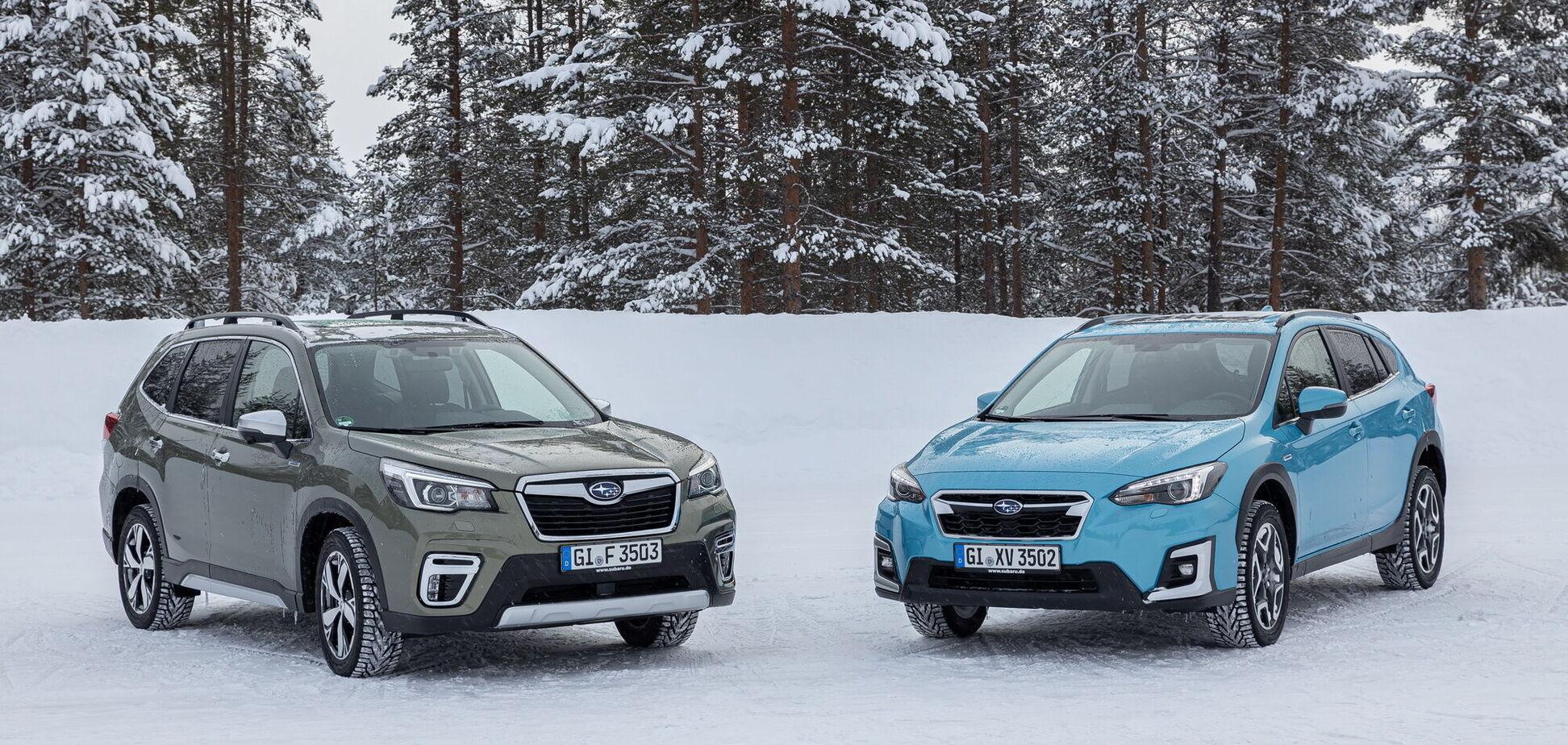 В Украине состоялась презентация гибридных моделей Subaru