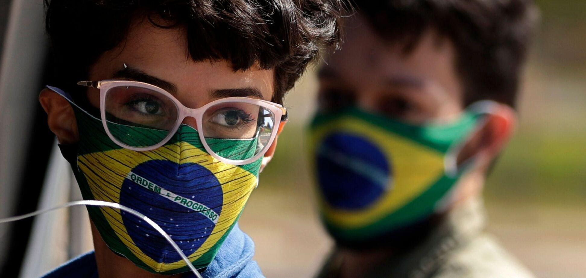 Половина населення Бразилії буде вакцинована до червня