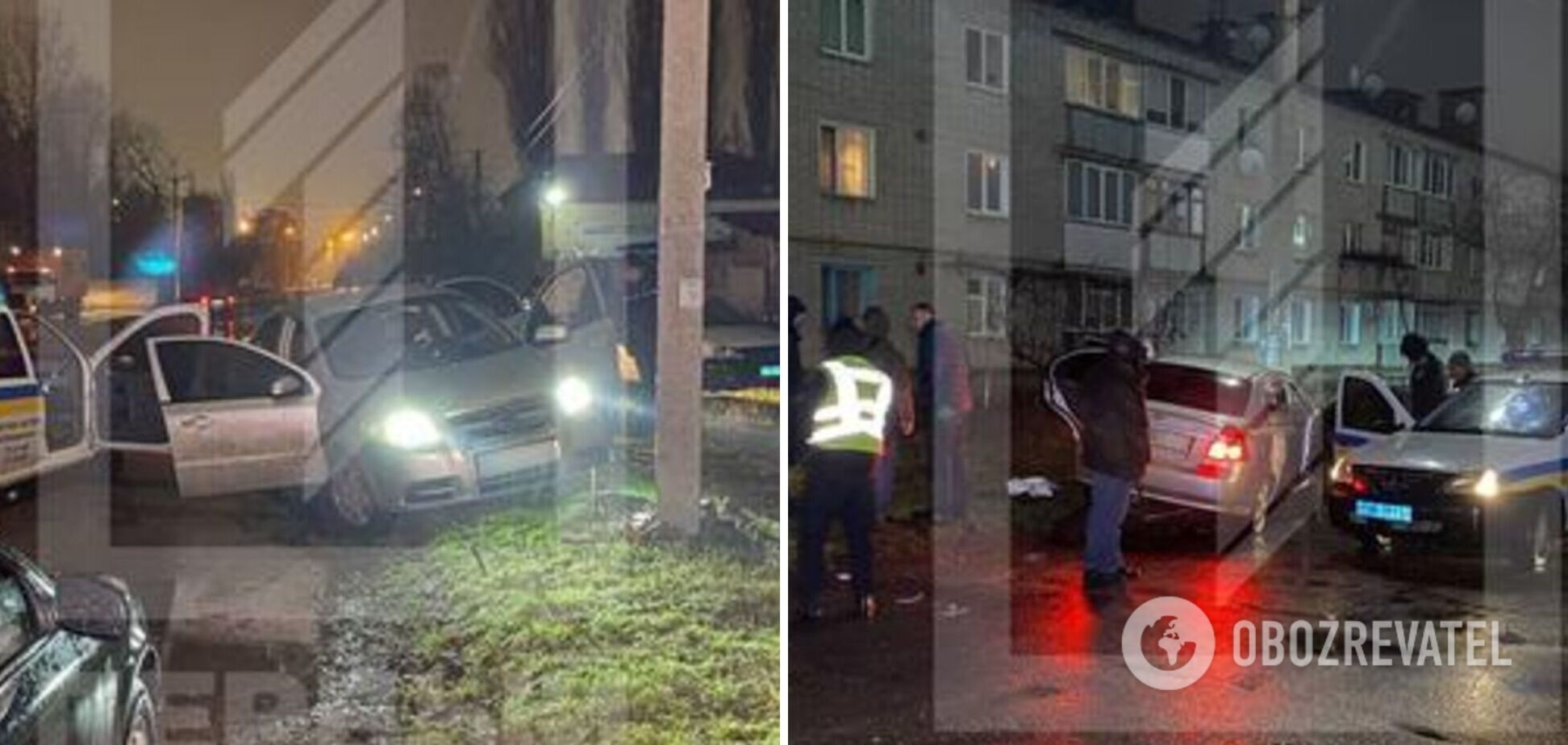 В Кривом Роге водитель из-за ссоры с девушкой на ходу перерезал себе горло