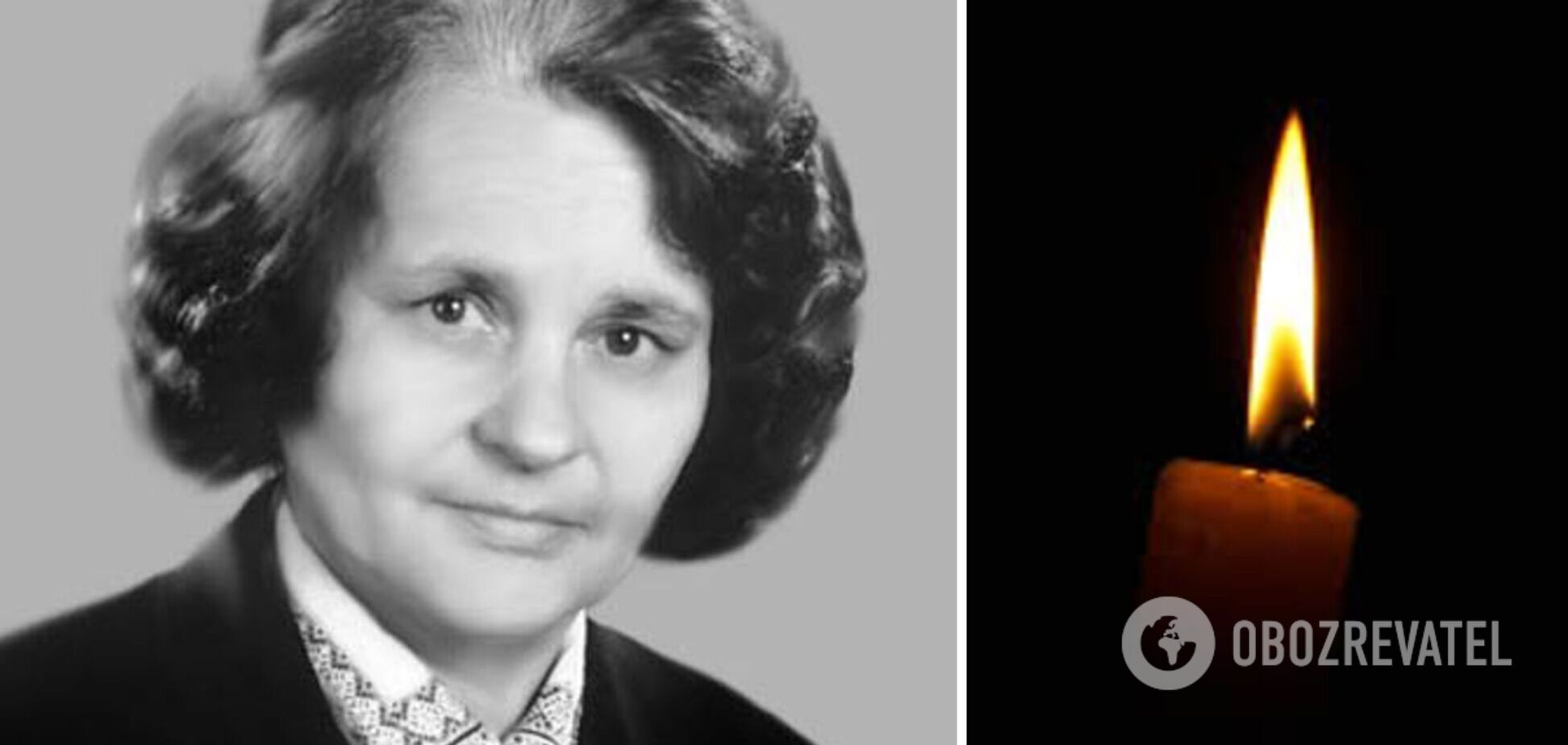Во Львове умерла украинская диссидентка Ольга Горынь