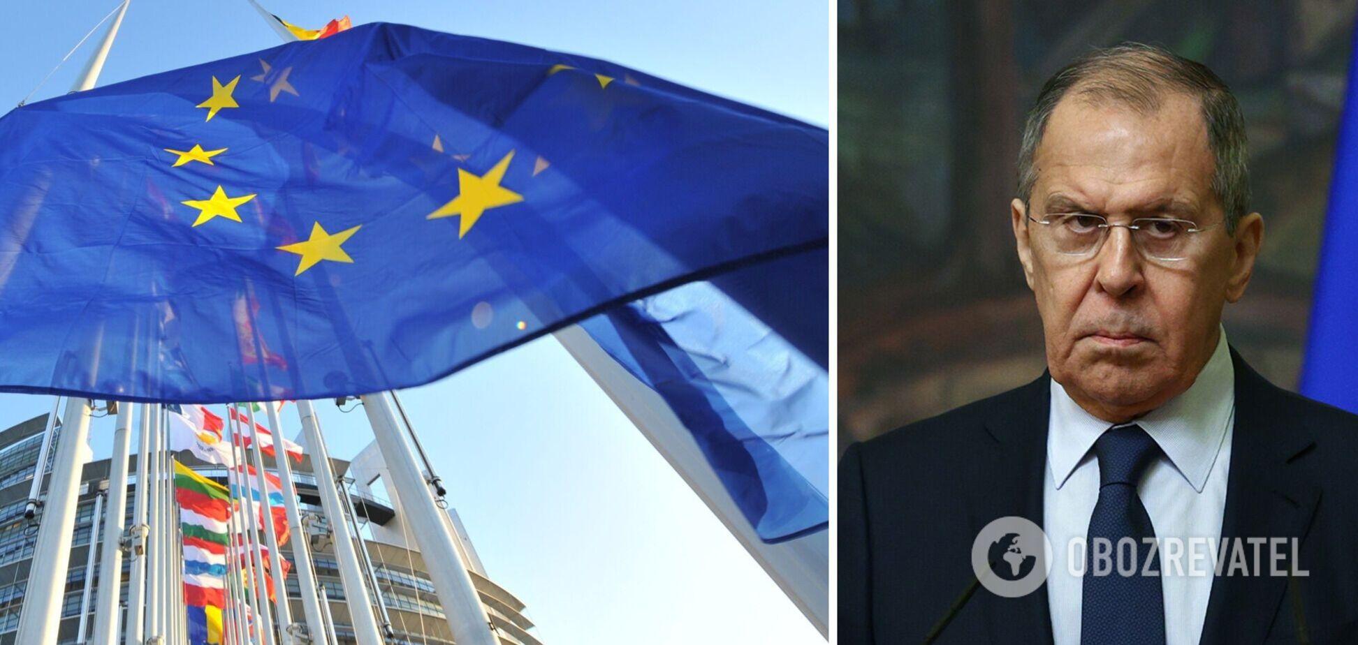 В ЕС ответили на заявление Лаврова о разрыве отношений
