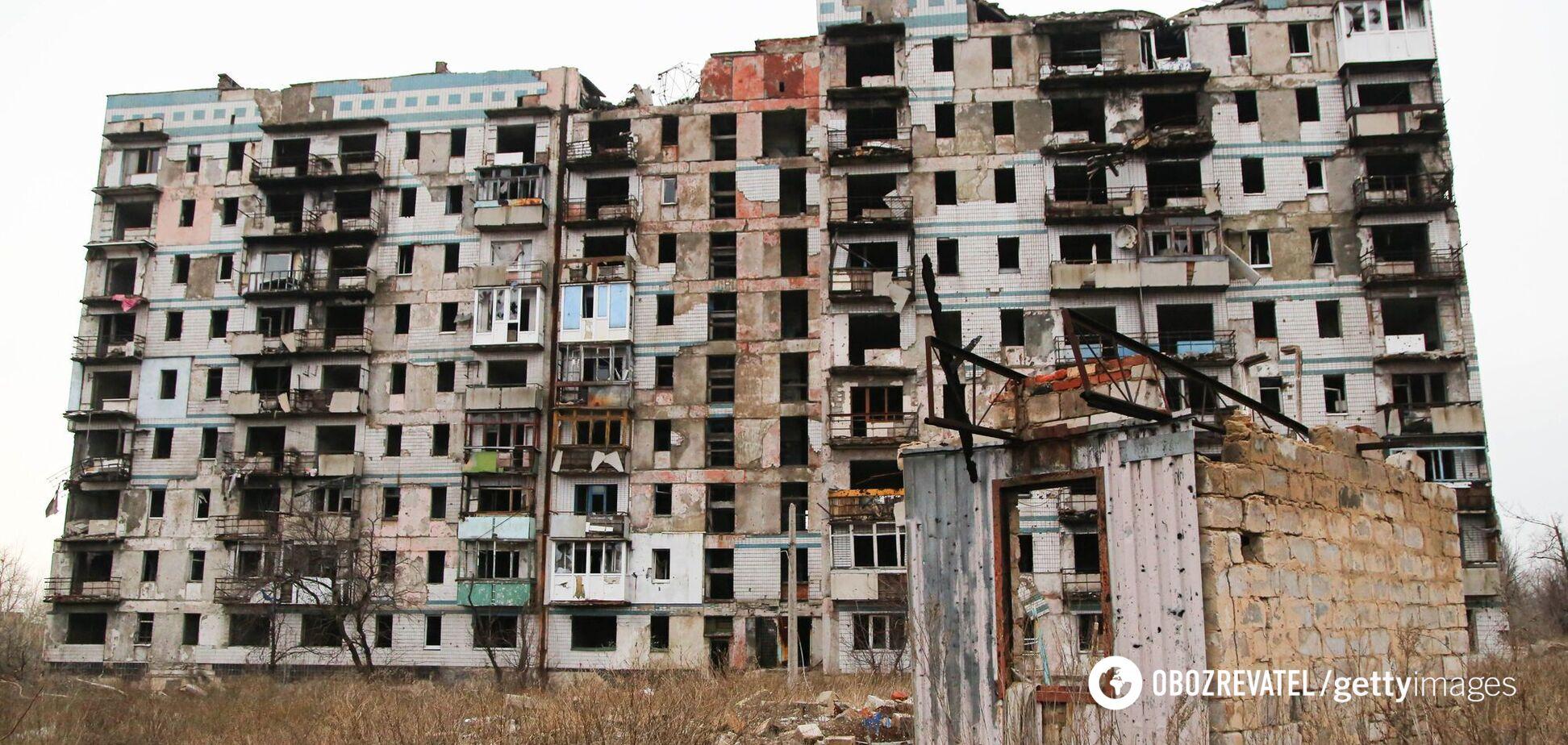В Украине оценили потери от оккупации части Донбасса в 375 млрд гривен