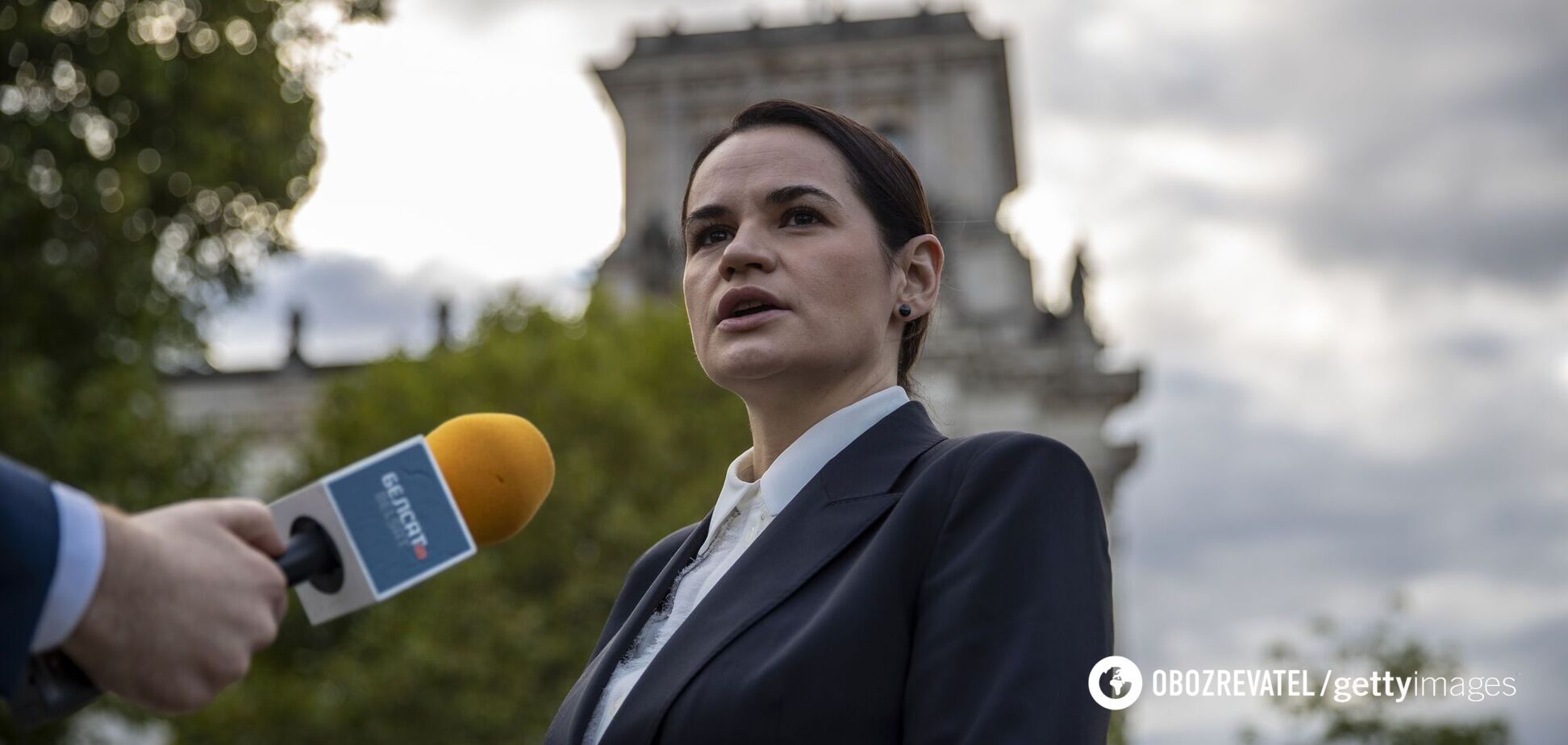 Тихановська звернулася до Ради та попросила допомоги України