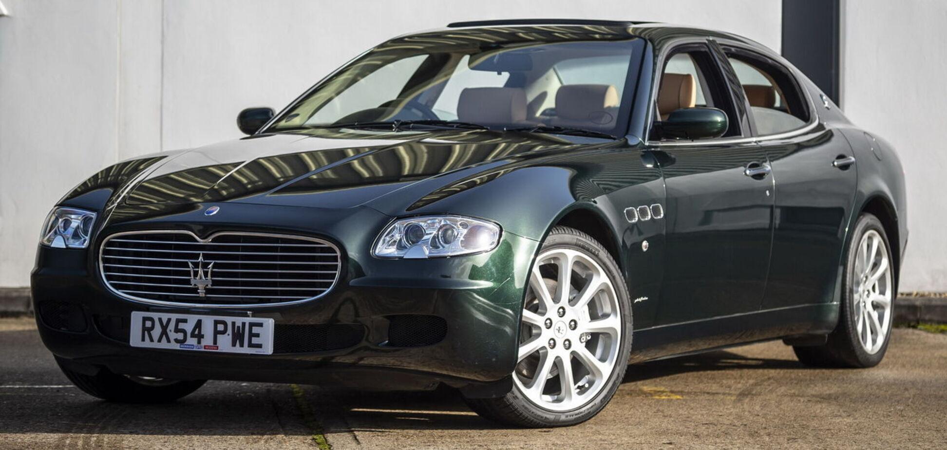 Maserati Елтона Джона продадуть на аукціоні