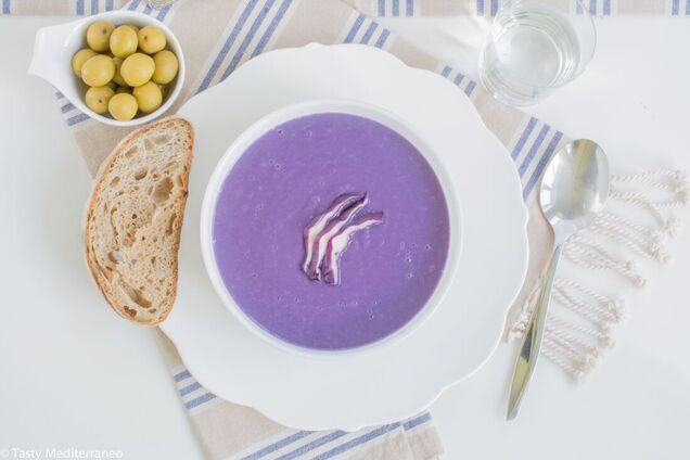 Нежный и кремовый суп.