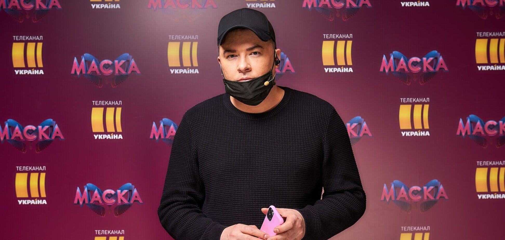 Данилко заявив, що роздягнеться догола і станцює на сцені шоу 'Маска'