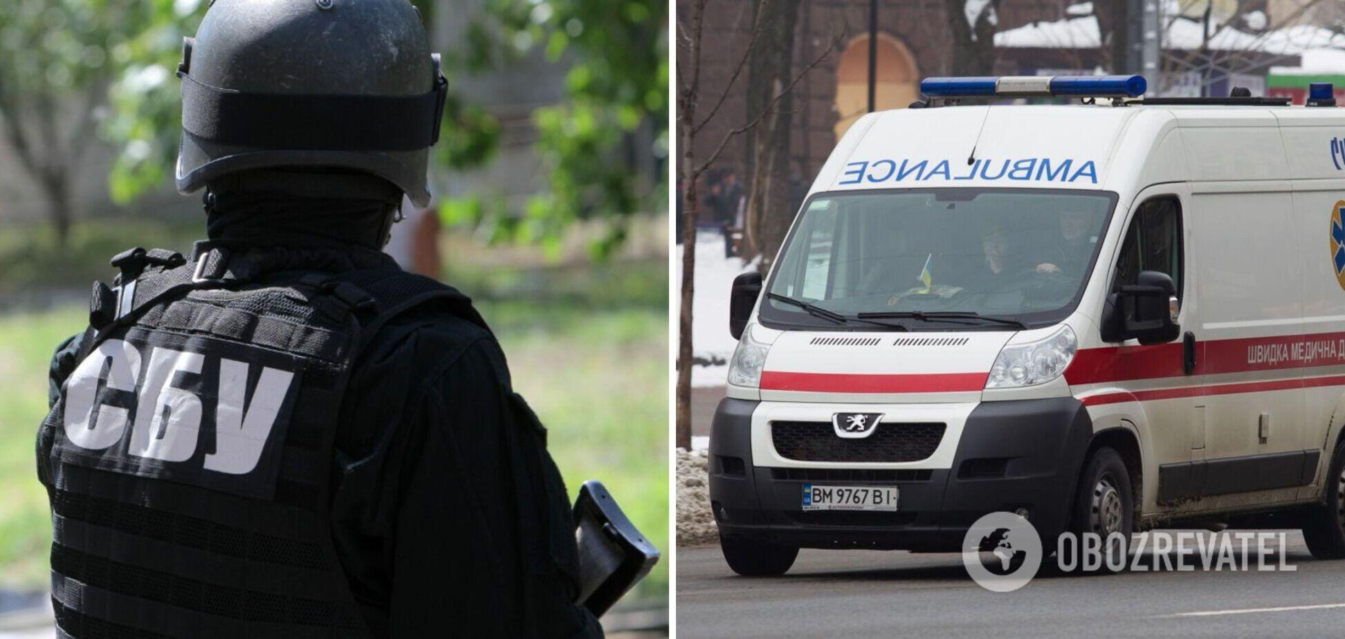 В Виннице экс-СБУшник протаранил авто скорой помощи и угрожал водителю