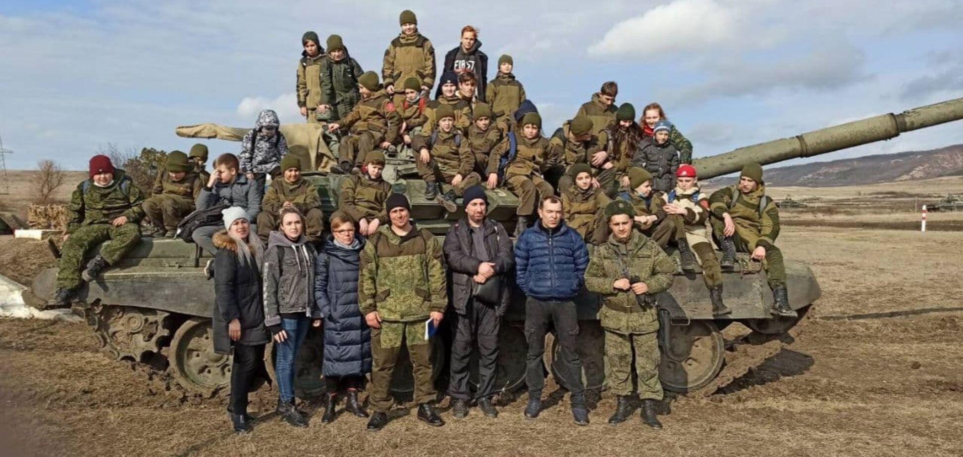 Милитаризация детей Крыма