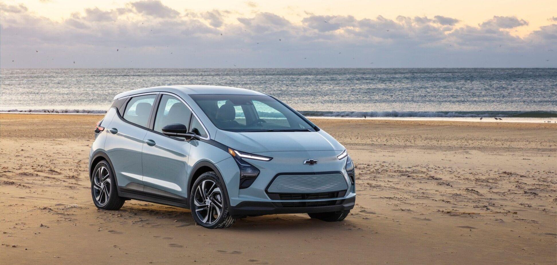 General Motor представил два новых электромобиля