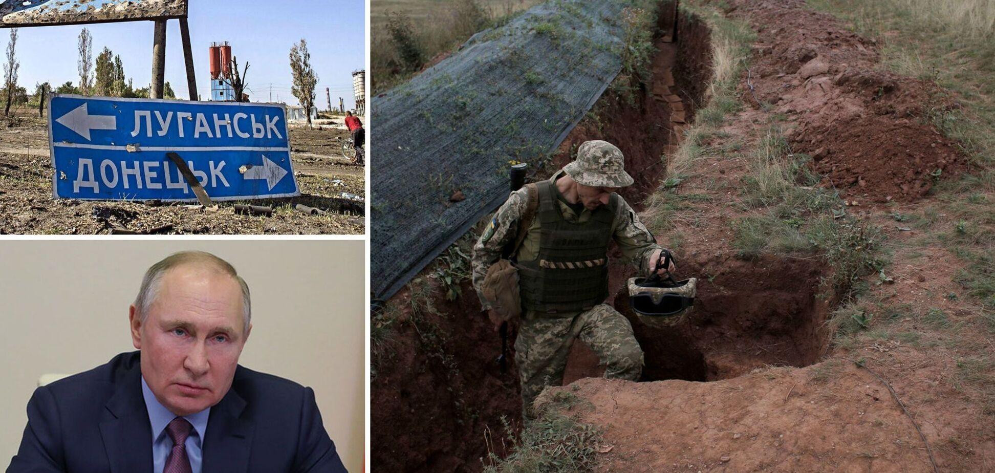 Російські війська контролюють територію ОРДЛО з 2014 року