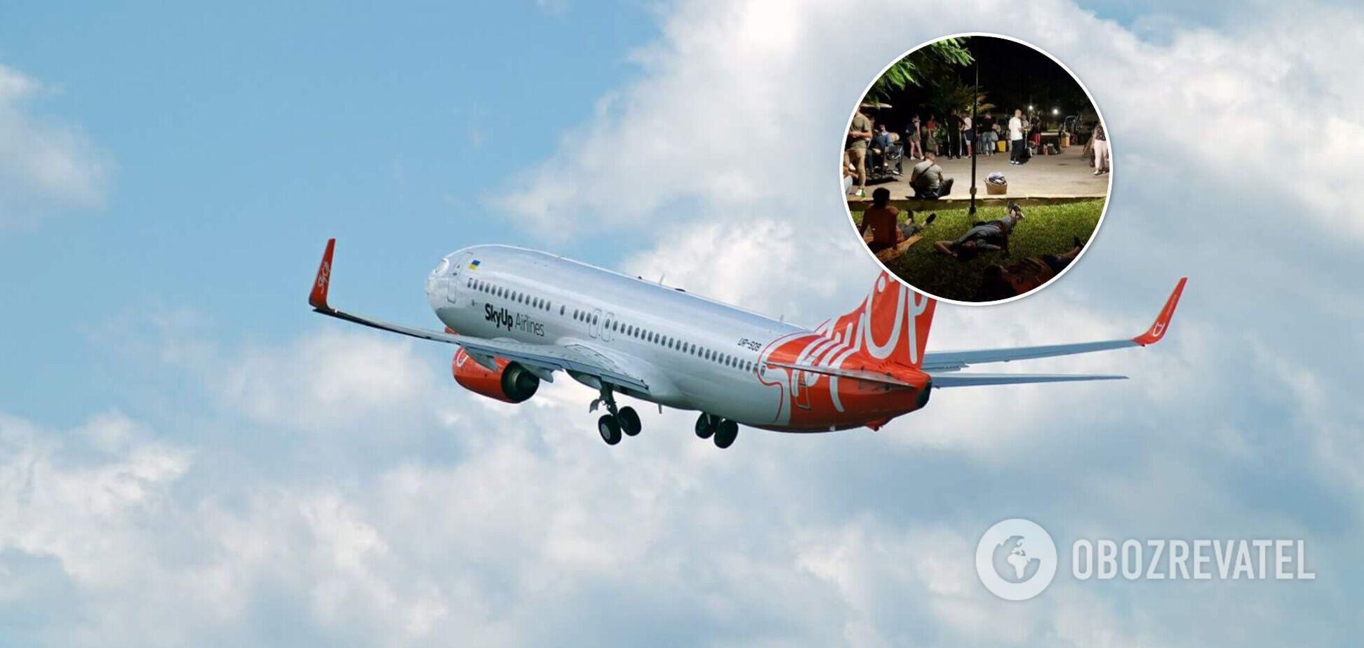 Самолет с застрявшими на Занзибаре украинцами получил разрешение на вылет