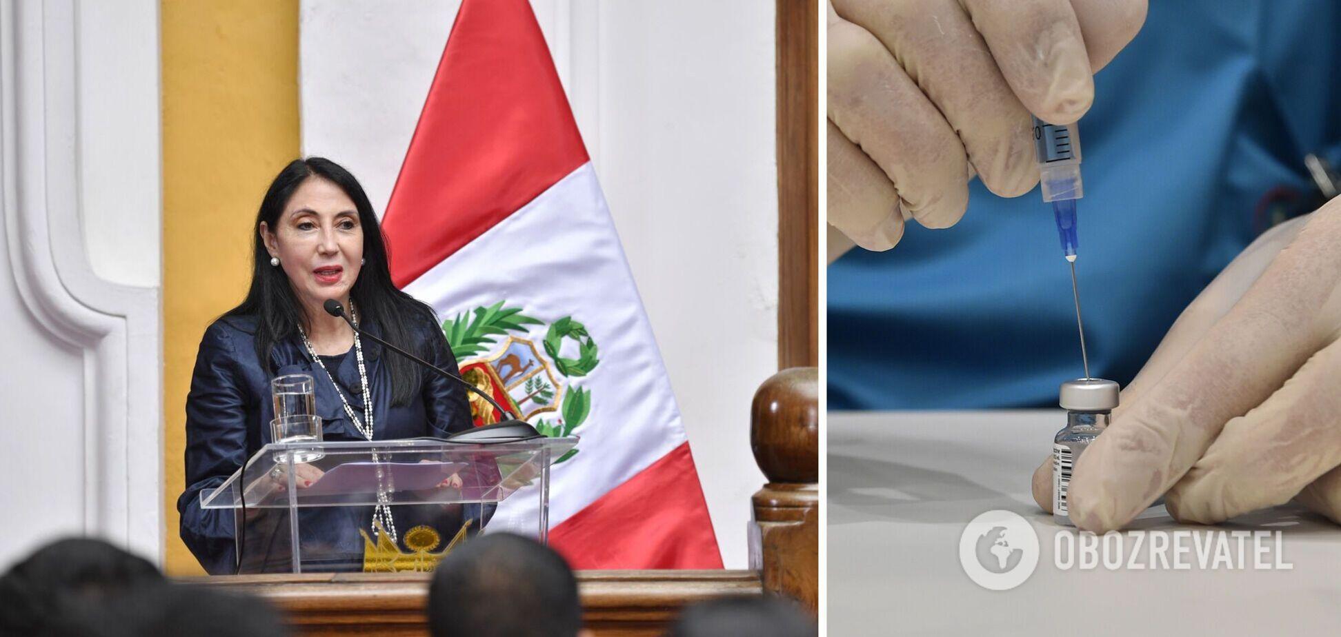 Глава МИД Перу объявила об отставке