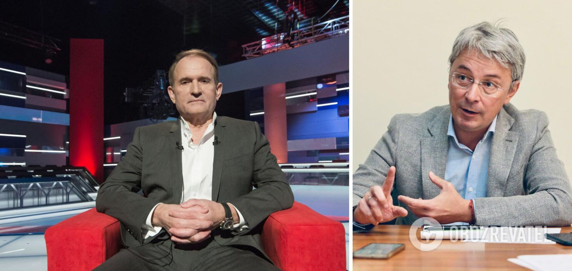 Ткаченко заявив про опосередковане фінансування з боку Росії телеканалів Медведчука