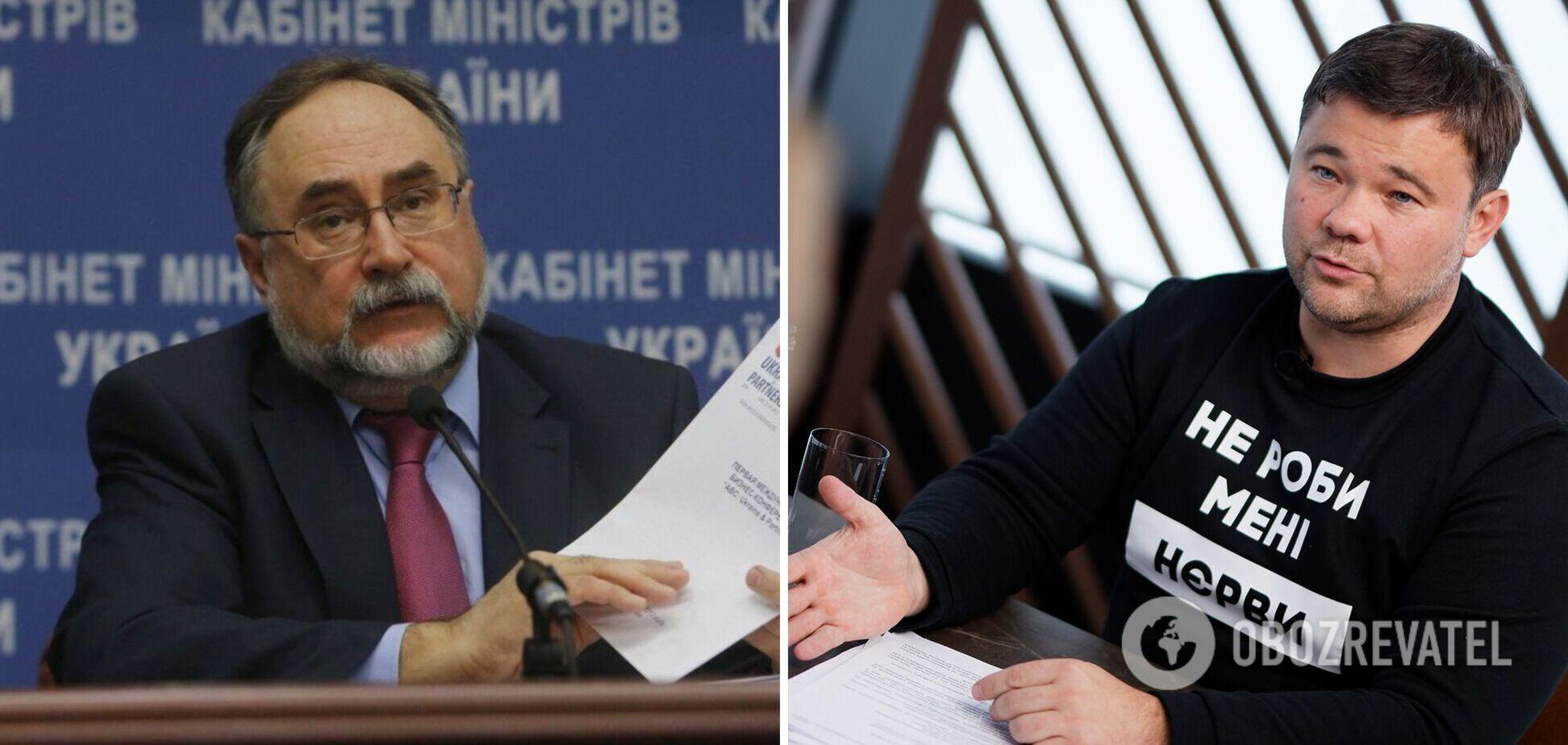Богдан заявил, что умершего посла Украины в Китае терроризировали увольнением