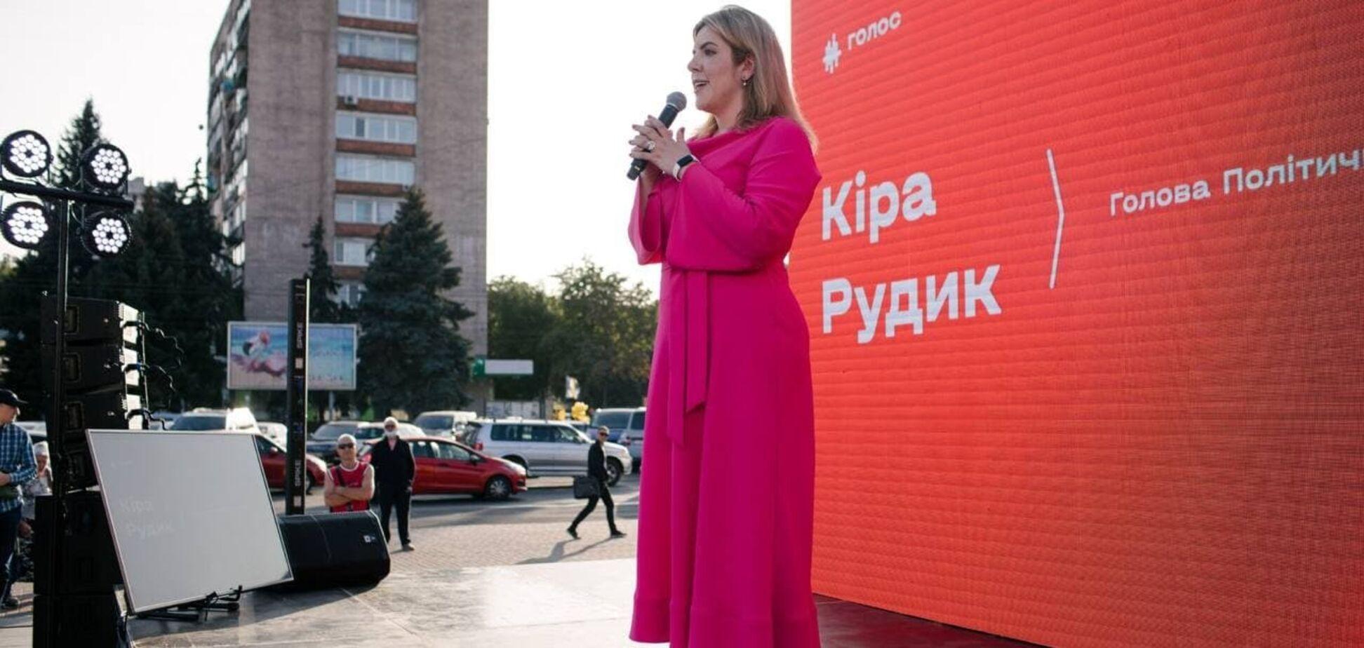 Кира Рудик не исключает возможности в будущем занять пост премьер-министра Украины