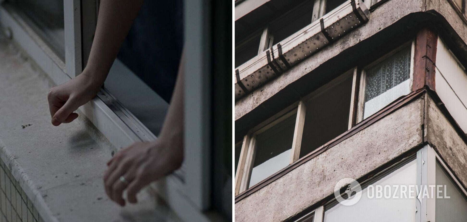 У Києві дівчинка випала з багатоповерхівки