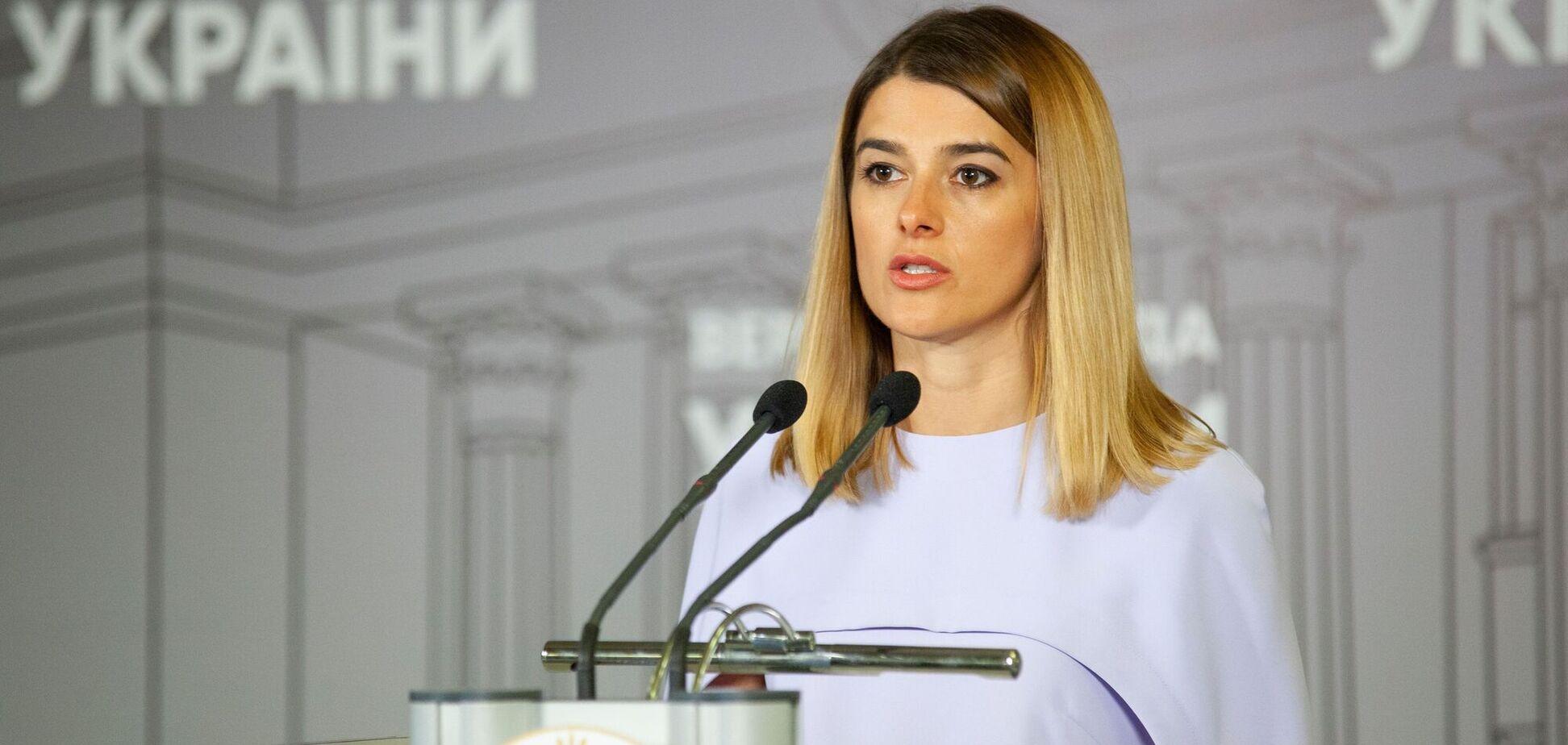 Депутат Билозир пришла в Раду в рубашке от Dior за 50 тысяч грн. Фото