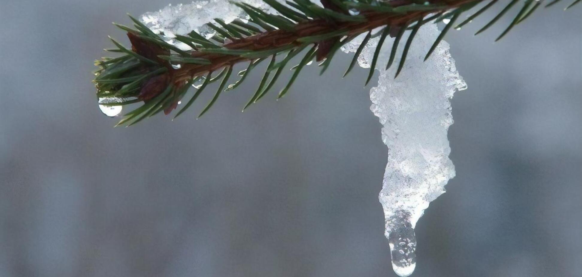 В Украину идет потепление, морозы отступают