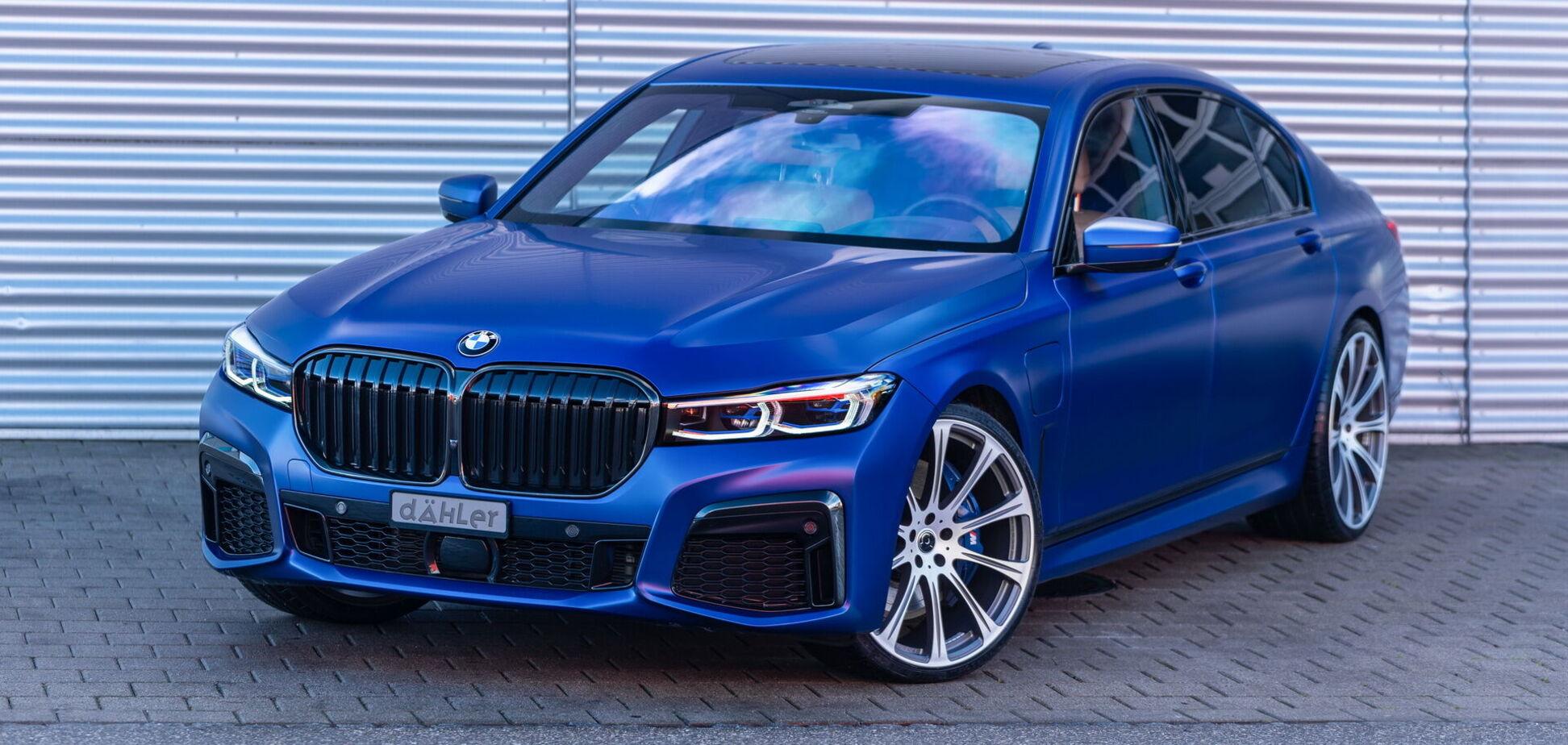 BMW 745Le xDrive сделали мощнее, чем M3 Competition
