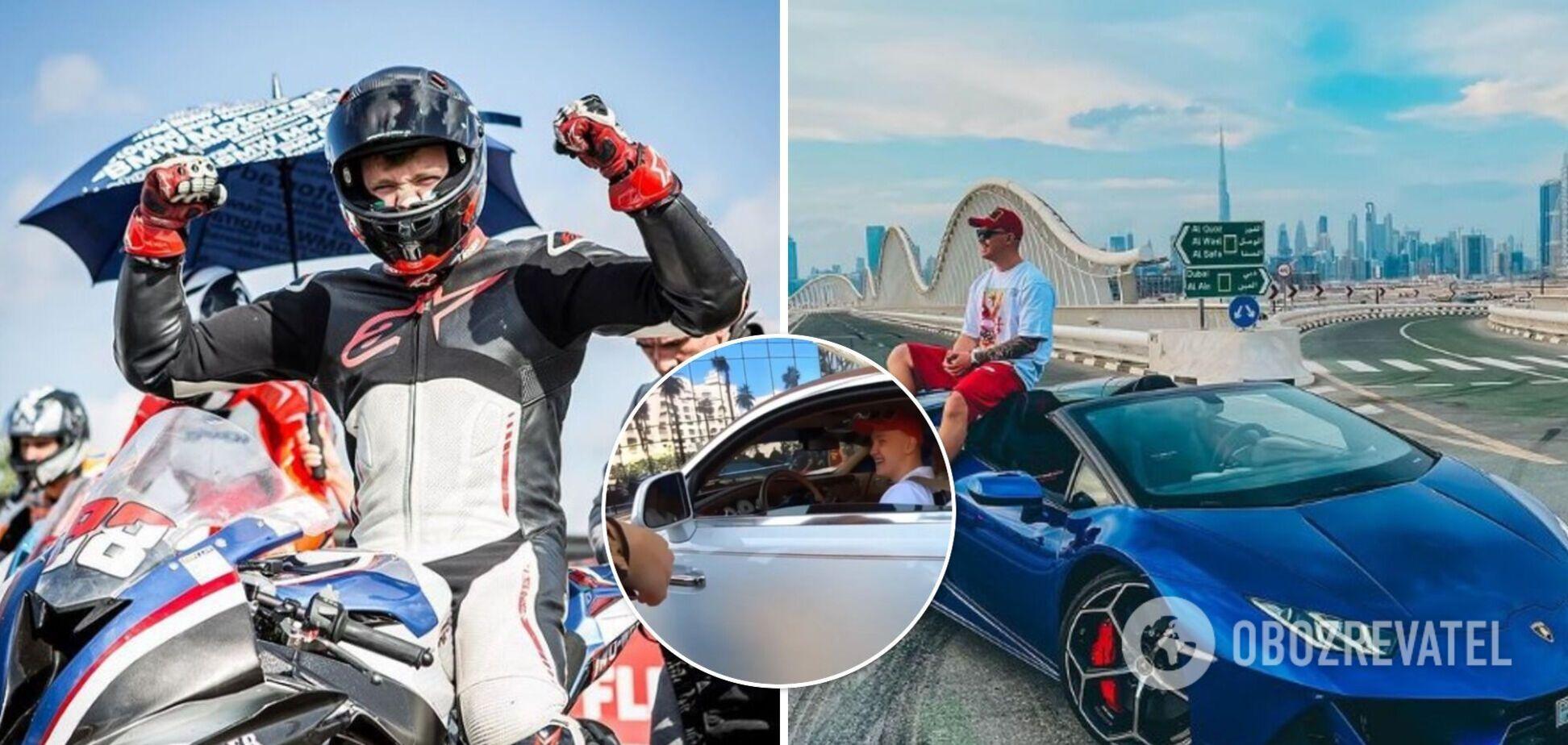 Молодим українцем за кермом Rolls-Royce в Дубаї виявився бізнесмен і гонщик. Фото