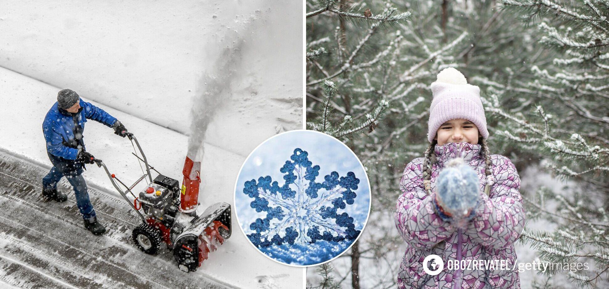 Україну накриє сніг і вдарить сильніший мороз: прогноз погоди і мапа