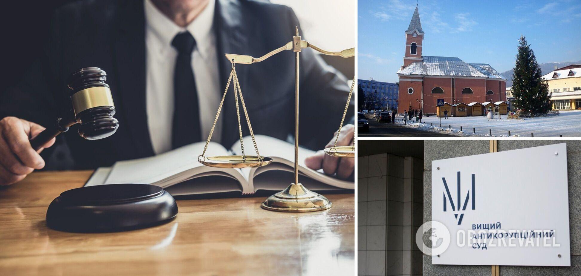 Судье с Закарпатья дали 6 лет тюрьмы за взяточничество