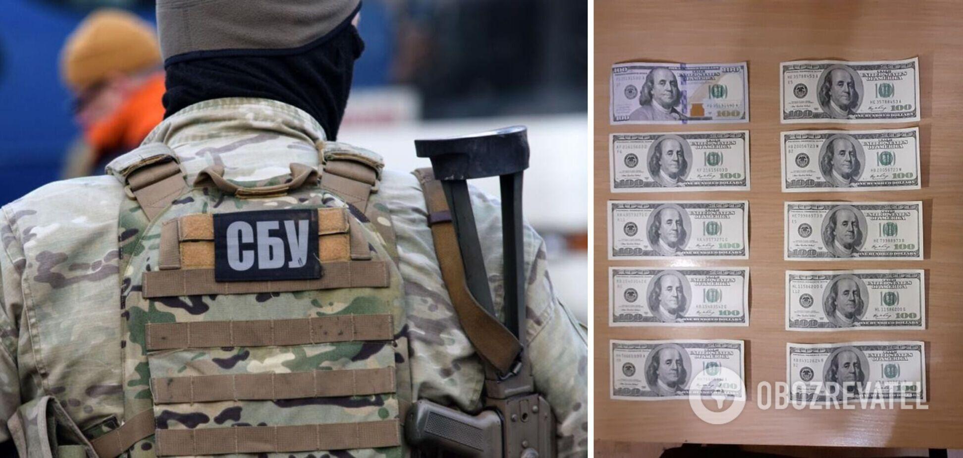 Агентов ФСБ, которые пытались подкупить военного ВСУ, взяли под стражу