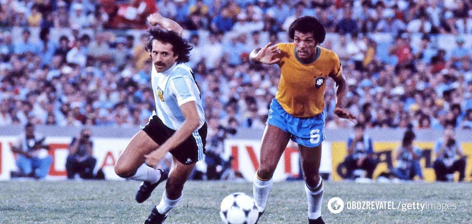 Леопольдо Луке в матче против Бразилиии