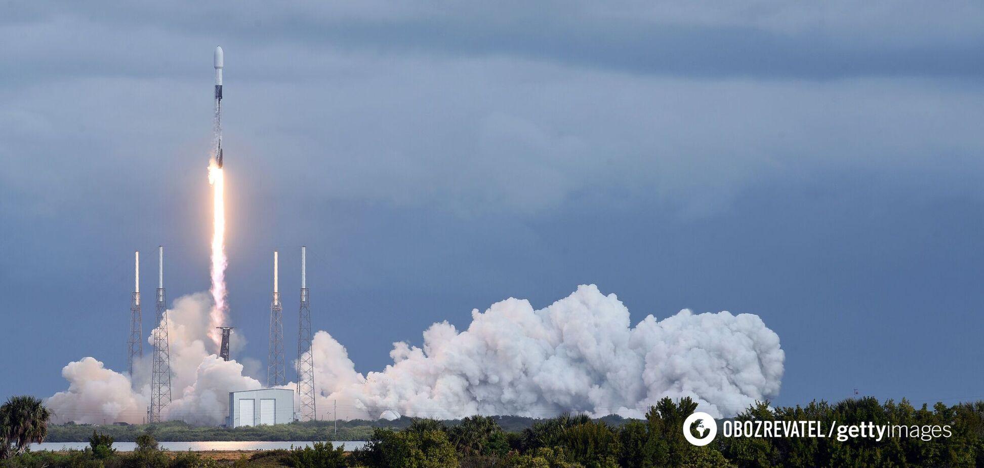 SpaceX успешно запустила Falcon 9, но ракета утонула при посадке. Видео