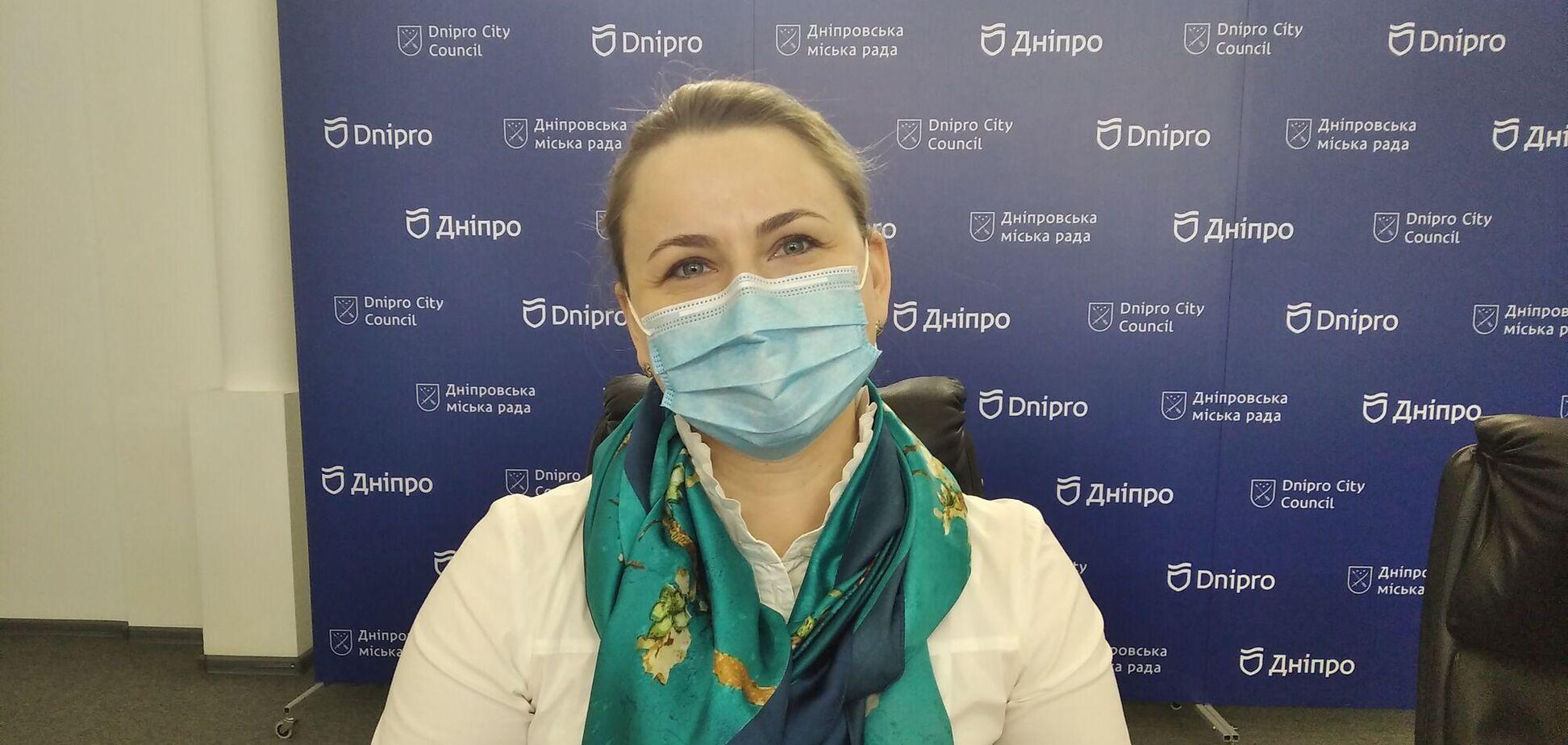 Начальниця інспекції з питань праці та зайнятості населення ДМР Тетяна Янушкевич